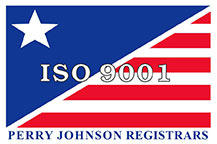 Perry Johnson Registrars ISO 9001 stamp